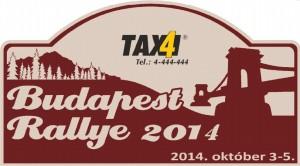Budapest Rallye 2014 rallyetábla