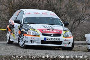Felemás, de eredményes volt az Eger Rallye