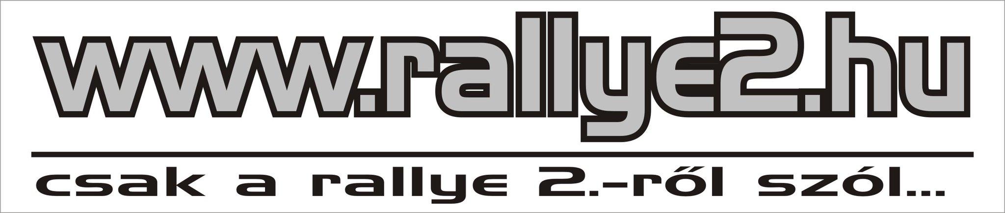 Rallye2.hu logó