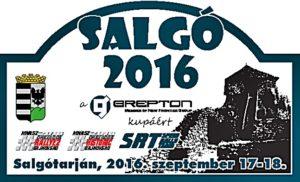Salgó Rallye 2016 rallyetábla