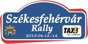 Székesfehérvár Rallye 2015 rallyetábla nagy