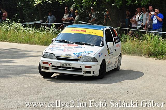 Veszprém Rallye 2016 Rallye2 Salánki Gábor_442